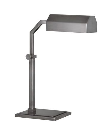 Shown in Dark Antique Nickel finish and Metal shade