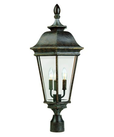 Savoy House Chatsworth 3 Light Outdoor Post Lamp