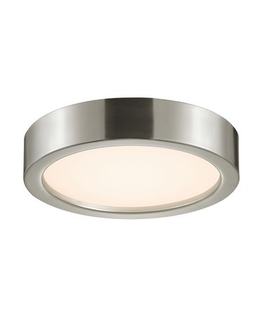 Shown in Satin Nickel finish and Satin Nickel shade
