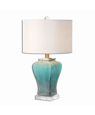 Shown in Brushed Aluminum finish and White Linen shade
