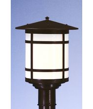 Arroyo Craftsman BP-11L Berkeley 1 Light Outdoor Post Lamp