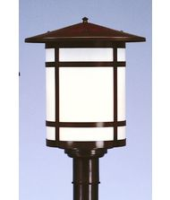 Arroyo Craftsman BP-14L Berkeley 1 Light Outdoor Post Lamp