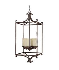 Capital Lighting 9225 Highlands 24 Inch Foyer Pendant