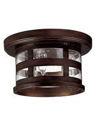 Capital Lighting 9956 Mission Hills 3 Light Outdoor Flush Mount