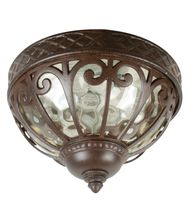 Craftmade Z3837-98 Olivier 2 Light Outdoor Flush Mount