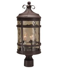 Craftmade Z5015 Espana 2 Light Outdoor Post Lamp