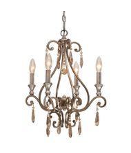 Crystorama 7524 Shelby 17 Inch Mini Chandelier