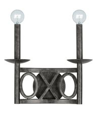 Crystorama 9242 Odette 12 Inch Wall Sconce