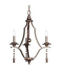 Crystorama 9353 Parson 20 Inch Mini Chandelier