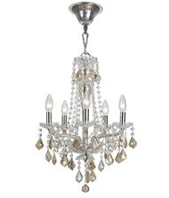 Crystorama 9835 Simone 15 Inch Mini Chandelier