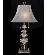 Dale Tiffany Crystal Table Lamp: Crystal Springs 28 Inch High Table Lamp,Lighting