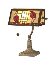 Dale Tiffany Henderson Bankers 14 Inch Piano Lamp