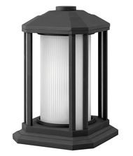 Hinkley Lighting 1397GU24 Castelle Energy Smart 1 Light Outdoor Pier Lamp