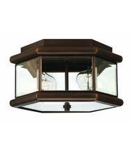 Hinkley Lighting 2429 Clifton Park 2 Light Outdoor Flush Mount