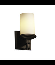Justice Design Group FSN-8531 Fusion Deco 5 Inch Wall Sconce