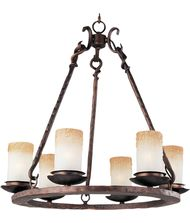Maxim Lighting 10975 Notre dame 24 Inch Chandelier
