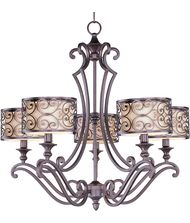 Maxim Lighting 21155 Mondrian 28 Inch Chandelier
