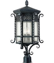 Maxim Lighting 30121 Scottsdale 3 Light Outdoor Post Lamp