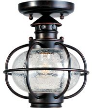 Maxim Lighting Portsmouth 1 Light Outdoor Flush Mount