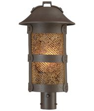 Minka Lavery 9256PL Lander Heights Energy Smart 1 Light Outdoor Post Lamp