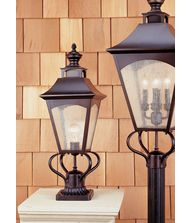 Murray Feiss OL1007 Homestead 1 Light Outdoor Post Lamp