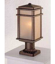 Murray Feiss OL3407 Mission Lodge 1 Light Outdoor Post Lamp