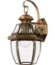 Quoizel NY8316 Newbury 1 Light Outdoor Wall Light