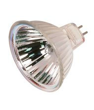 Satco S2615 20 Watt 12 Volt MR16 Bi Pin Hard Coated Dichroic Reflector Halogen Bulb